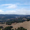Wide western panorama from Mount Burdell.