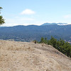 Mount Burdell overlook, view of Mount Tamalpais, Big Rock Ridge.