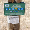 Signboard with Mount Burdell Open Space Preserve regulations.