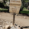 Boundary sign for Mokelumne Wilderness.