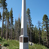 Monument to Snowshoe Thompson.