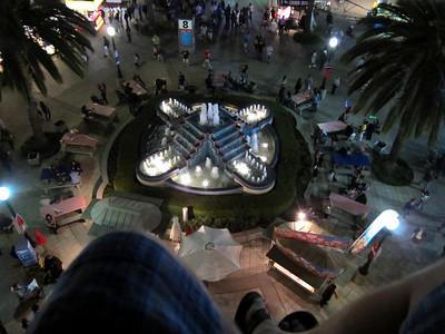 Fountain at the fair grounds