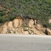 View toward the sandy cliffs.