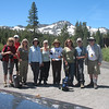 Our group for today. From left: Dorothy, Mike, Carleen, Bonnie, Chris, Natalia, Linda, Rich, and Frank (yours truly).