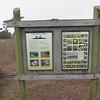 Kiosk sign for Chimney Rock Trailhead.