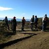 Hikers on Wildcat Peak.