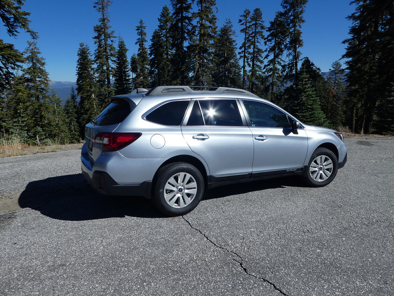 Wilma Subie at overlook on Mormon Emigrant Trail.