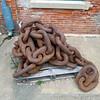 Anchor chain.
