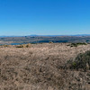 Panorama shot looking east from Tomales Point.