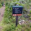 Hiking on the Slacker Trail.
