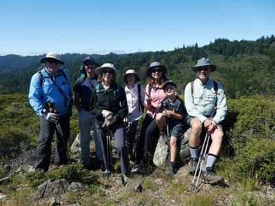 Our group for today. From left: Frank (yours truly), Dave, Jean, Bonnie, Linda, Dominic, Rich.
