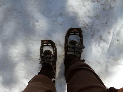 Frank's snowshoes.