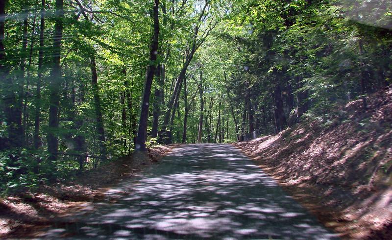Entering Garden in the Woods