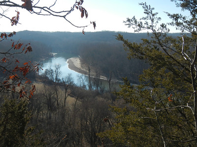 Hiking Group, Castlewood State Park, 12-31-13
