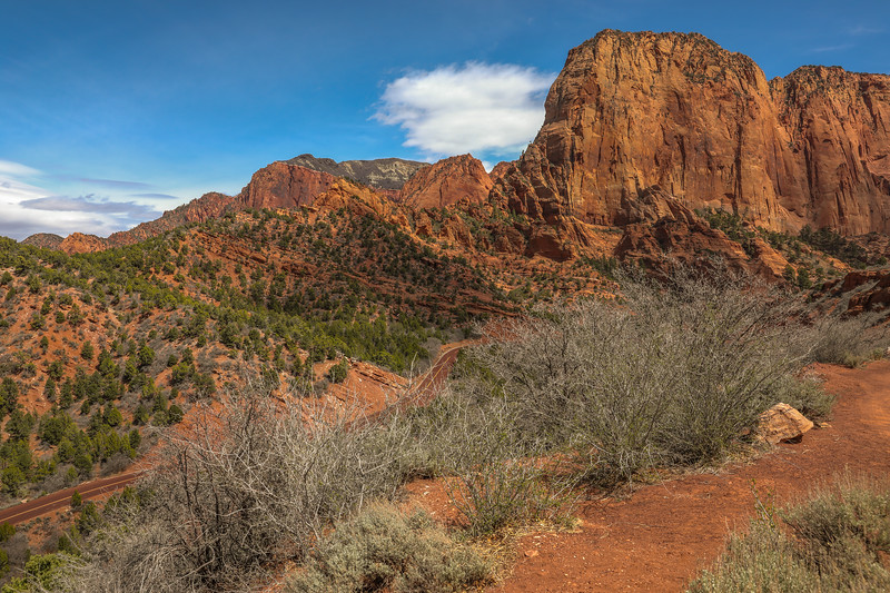Kolob Canyons Road