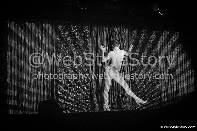Soirée de la boutique Colette au Crazy Horse à l'occasion de la Fashion Week.