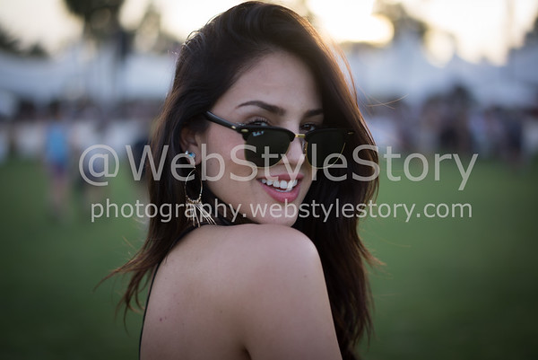 Eiza Gonzales in Coachella by WebStyleStory
