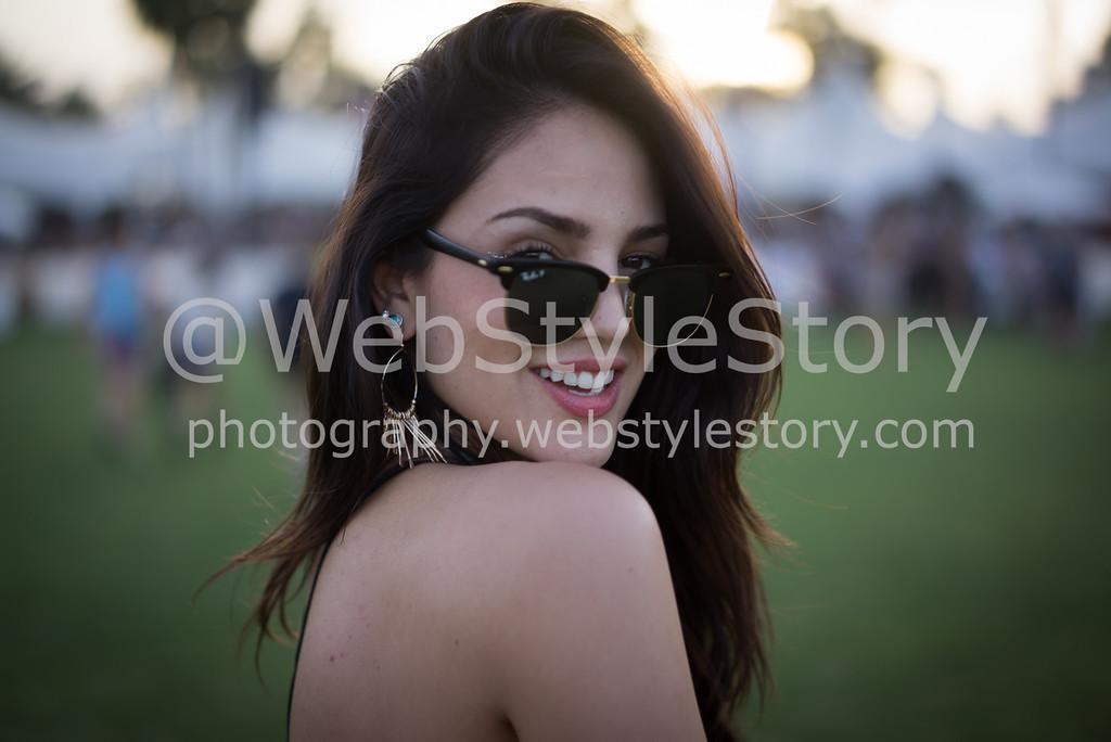 Eiza Gonzales in Coachella by WebStyleStory