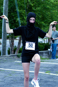 An Actual Ninja in the Ninja 5k