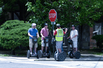 Walking Tour Gives Way to Segway