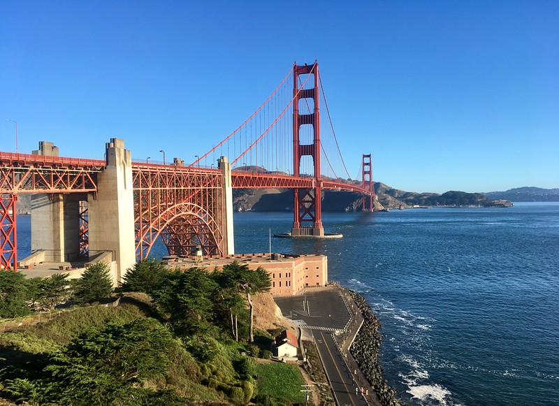 September 8, 2019: Golden Gate Bridge