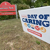 The 25th annual United Way Day of Caring was held on Friday, September 18, 2020. Many came out to volunteer to help work on projects in North Central Massachusetts. SENTINEL & ENTERPRISE/JOHN LOVE