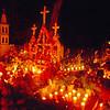 Night of the Dead (Noche de Muertos), November 1, Tzintzuntzan Cemetery, near Patzcuaro, Michoacan, Mexico