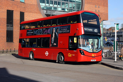 Go Ahead London WHV 60-BP15 OMD at Redhill Bus Station.
