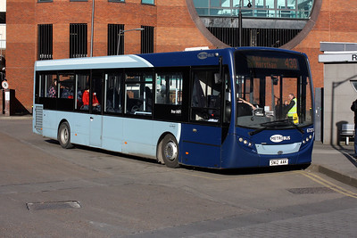 Metrobus 6737-SN12 AAK at Redhill Bus Station.