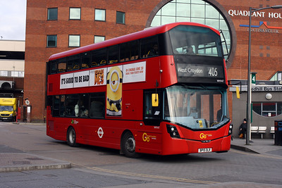 Go Ahead London WHV 47-BP15 OLR at Redhill Bus Station.