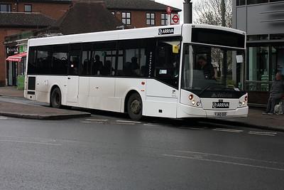 Arriva Kent & Surrey 7922-YJ60 GGO on North Street, Leatherhead.