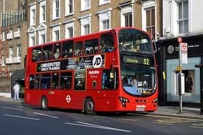 Metroline 1360-LK62 DHX at Kensington Church Street, Notting Hill.