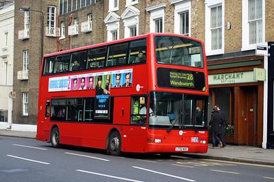 Tower Transit TN 33187-LT52 WVC at Kensington Church Street, Notting Hill.