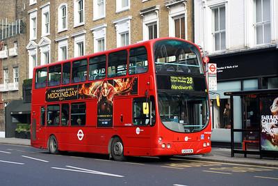 Tower Transit VNW 32388-LK04 HZW at Kensington Church Street, Notting Hill.