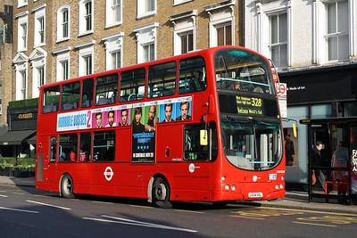 Tower Transit VNW 32401-LK04 HXL at Kensington Church Street, Notting Hill.