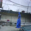 The blue men of Lagos, why, nobody knows.