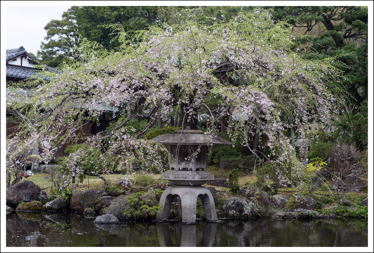 Sanno Gardens, built by Mr. Sanno, a wealthy businessman.