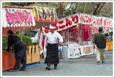 Festival food vendors.
