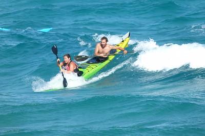 Aug 28 - Mitikas Double Surfing