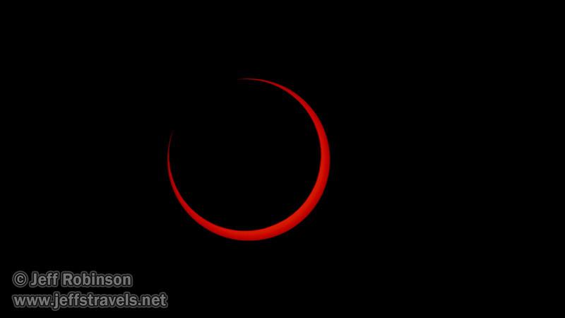Annular Eclipse of the sun (5/20/2012 - Stillwater National Wildlife Refuge, NV)Annular Eclipse of the sun after its peak (5/20/2012 - Stillwater National Wildlife Refuge, NV)