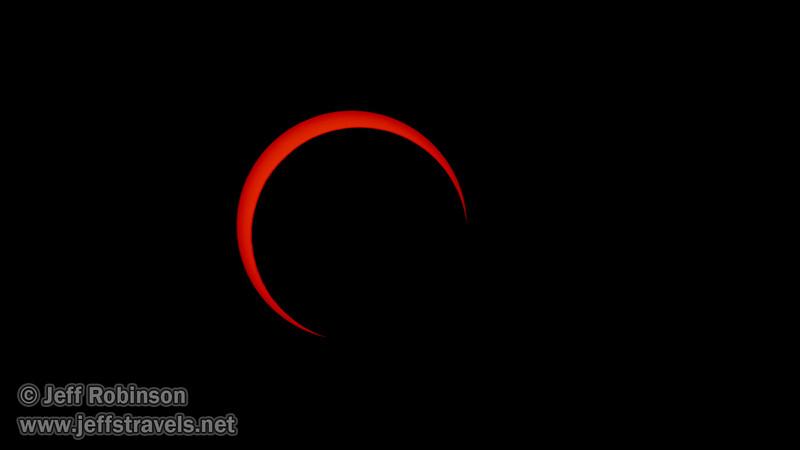 Annular Eclipse of the sun (5/20/2012 - Stillwater National Wildlife Refuge, NV)Annular Eclipse of the sun before its peak (5/20/2012 - Stillwater National Wildlife Refuge, NV)