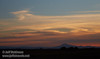 A distant Mt. Diablo under sunset clouds (10/12/2016, Woodbridge Ecological Reserve, South Unit)<br /> EF24-105mm f/4L IS USM @ 93mm f8 1/160s ISO200