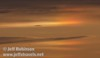 Sunset colors and a sun dog, with a distant jet (10/4/2009, Isenberg Sandhill Crane Reserve near Lodi, CA)