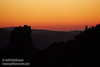 Post-sunset red-orange glow over a silhouetted mountain ridge (11/2/2013, Wrights Rd.)<br /> EF100-400mm f/4.5-5.6L IS USM @ 320mm f6.4 1/256s ISO1600