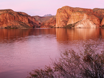Canyon Lake Dusk