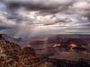 Spotlights and Storm