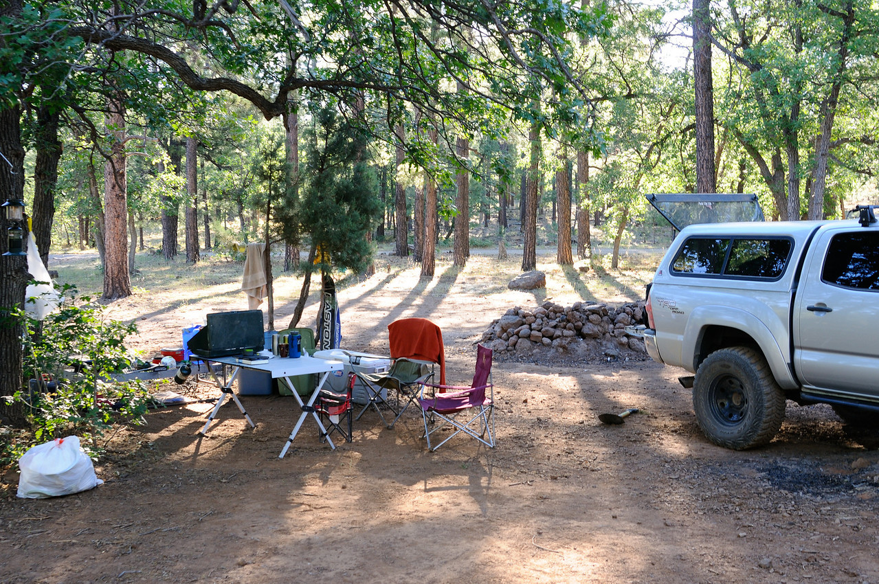Camp near Long Valley