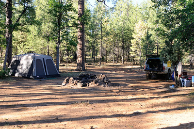 Camp near Long Valley