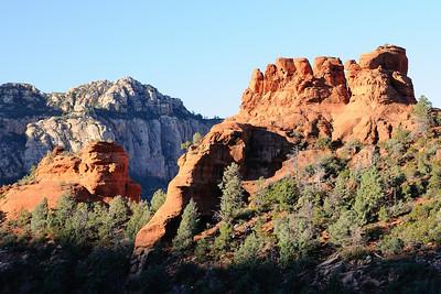 Hoodoos at the top of Bear Wallow Canyon