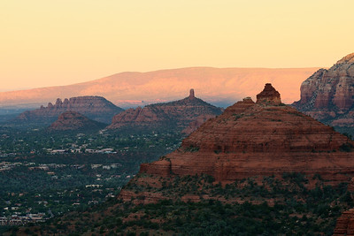 Buttes above Sedona